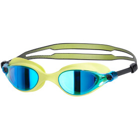 speedo Vue Mirror Goggles Unisex lime punch/blue